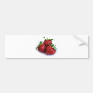 Strawberries Car Bumper Sticker
