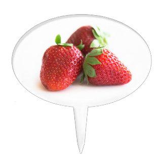 Strawberries Cake Topper