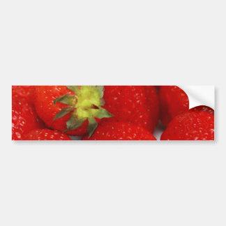 Strawberries! Car Bumper Sticker