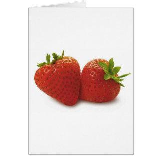 Strawberries Card