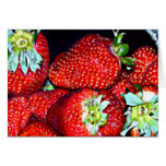 Strawberries Cards