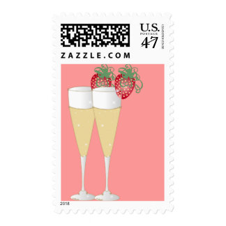 Strawberries & Champagne Postage