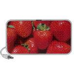 Strawberries Close-Up Laptop Speaker