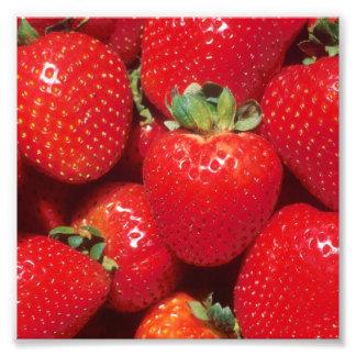 Strawberries Close-Up Photo