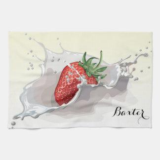 Strawberries & Cream Kitchen Towels
