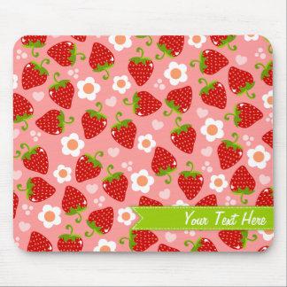 Strawberries Custom Mousepad