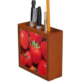 Strawberries Desk Organizer