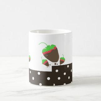 Strawberries Dipped in Chocolate Classic White Coffee Mug