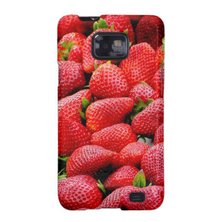 Strawberries Galaxy S2 Cover