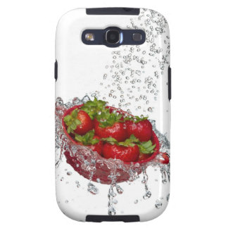 Strawberries in a red colander samsung galaxy s3 covers