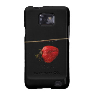 Strawberries in Water Galaxy SII Cases