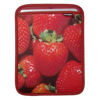 Strawberries iPad Sleeve