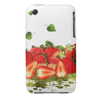 Strawberries iPhone 3 Case