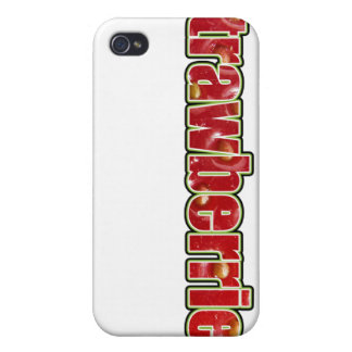 Strawberries iPhone Case (with fruit texture) iPhone 4/4S Cases