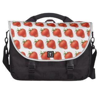 Strawberries Laptop Computer Bag