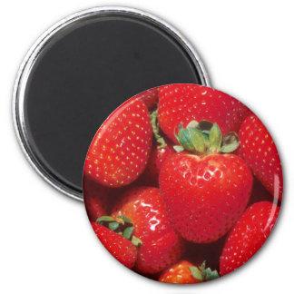 Strawberries Magnet