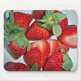 strawberries mouse pad