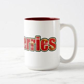 Strawberries Mug (with fruit texture)