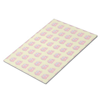Strawberries On Gold Craft Items Notepad