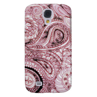 Strawberries Paisley iphone case for 3GS Samsung Galaxy S4 Case