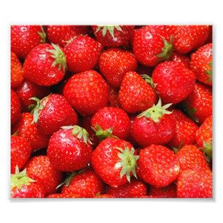 Strawberries Photo Print