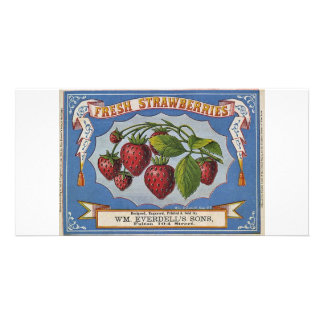 Strawberries Picture Card