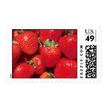 strawberries postage stamps