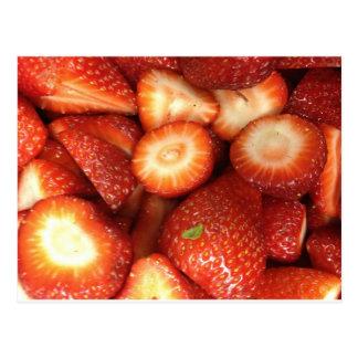 Strawberries! Postcard
