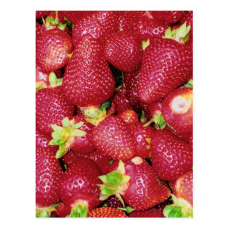 Strawberries Post Card