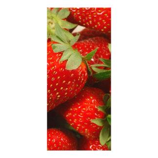 Strawberries Rack Card