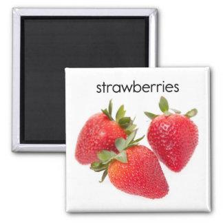 Strawberries Refrigerator Magnet