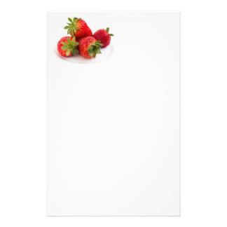 Strawberries Stationery