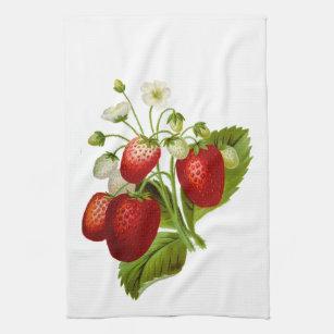 Strawberry Decor Kitchen Dining Supplies Zazzle
