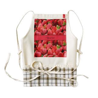 Strawberries Zazzle HEART Apron