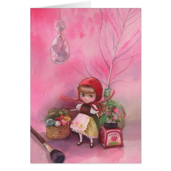 Strawberry Afternoon Card