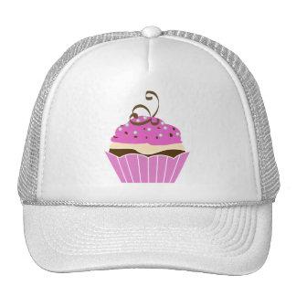 Strawberry and Chocolate Cupcake Trucker Hat