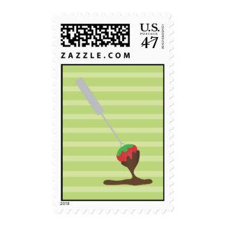 Strawberry and Chocolate Fondue Postage