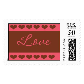 Strawberry and Chocolate Love Postage