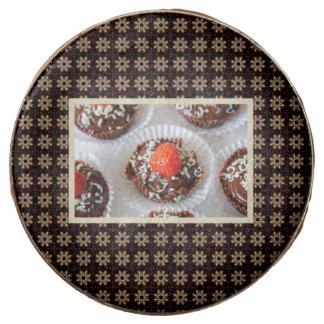 Strawberry and Dark Chocolate Mousse Dessert Chocolate Dipped Oreo