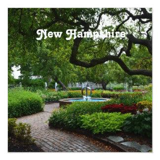 Strawberry Banke, NH 5.25x5.25 Square Paper Invitation Card