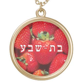 Strawberry Batsheva, Bat-sheva Gold Plated Necklace