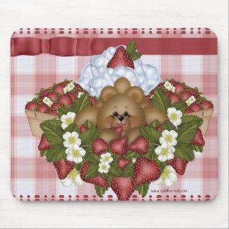 Strawberry Bear Mousepad