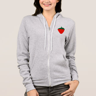 Strawberry Berry Fruit Summer Red Hoodie