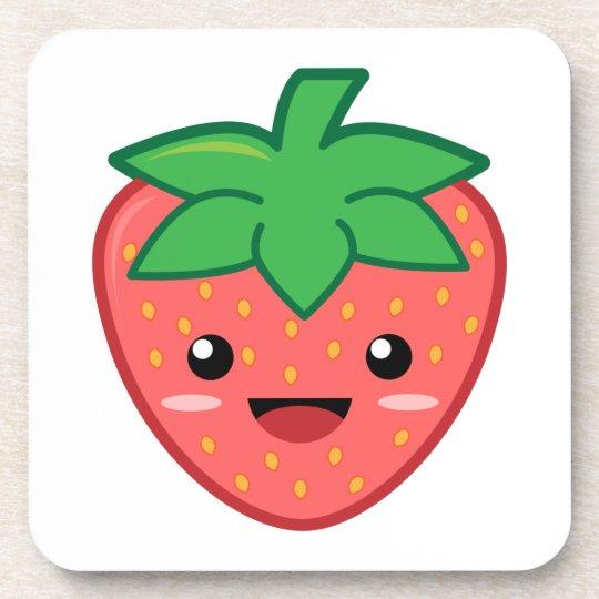 Strawberry Beverage Coaster