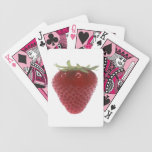 Strawberry big red deck of cards
