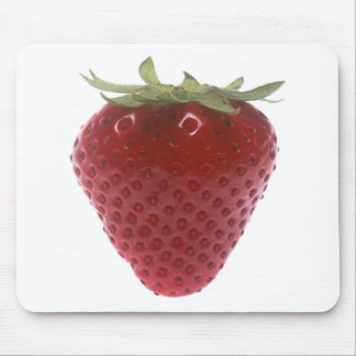 Strawberry big red mouse pad
