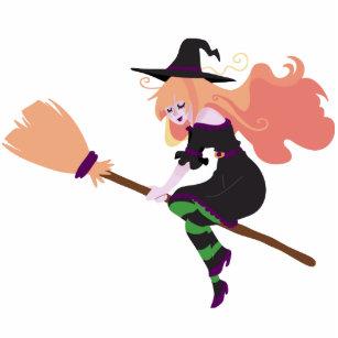Strawberry Blond Witch Cutout