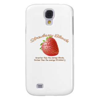 Strawberry Blonde Galaxy S4 Cover