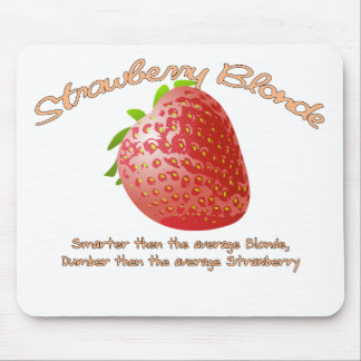 Strawberry Blonde Mouse Pad