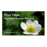 Strawberry Blossom business card